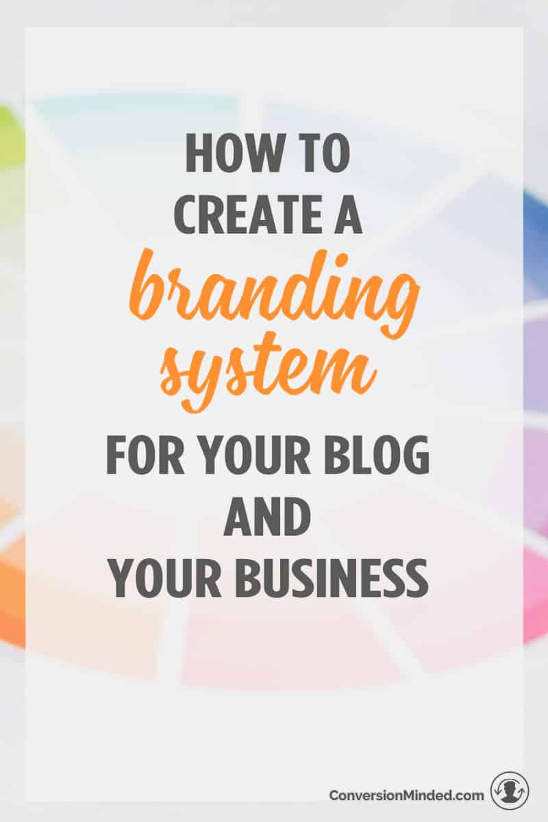 How to Create a Brand System for Your Blog and Your Business | Here's how to start branding yourself and your business so that all your brand elements work harmoniously together and are consistent everywhere. So that more people recognize your brand!
